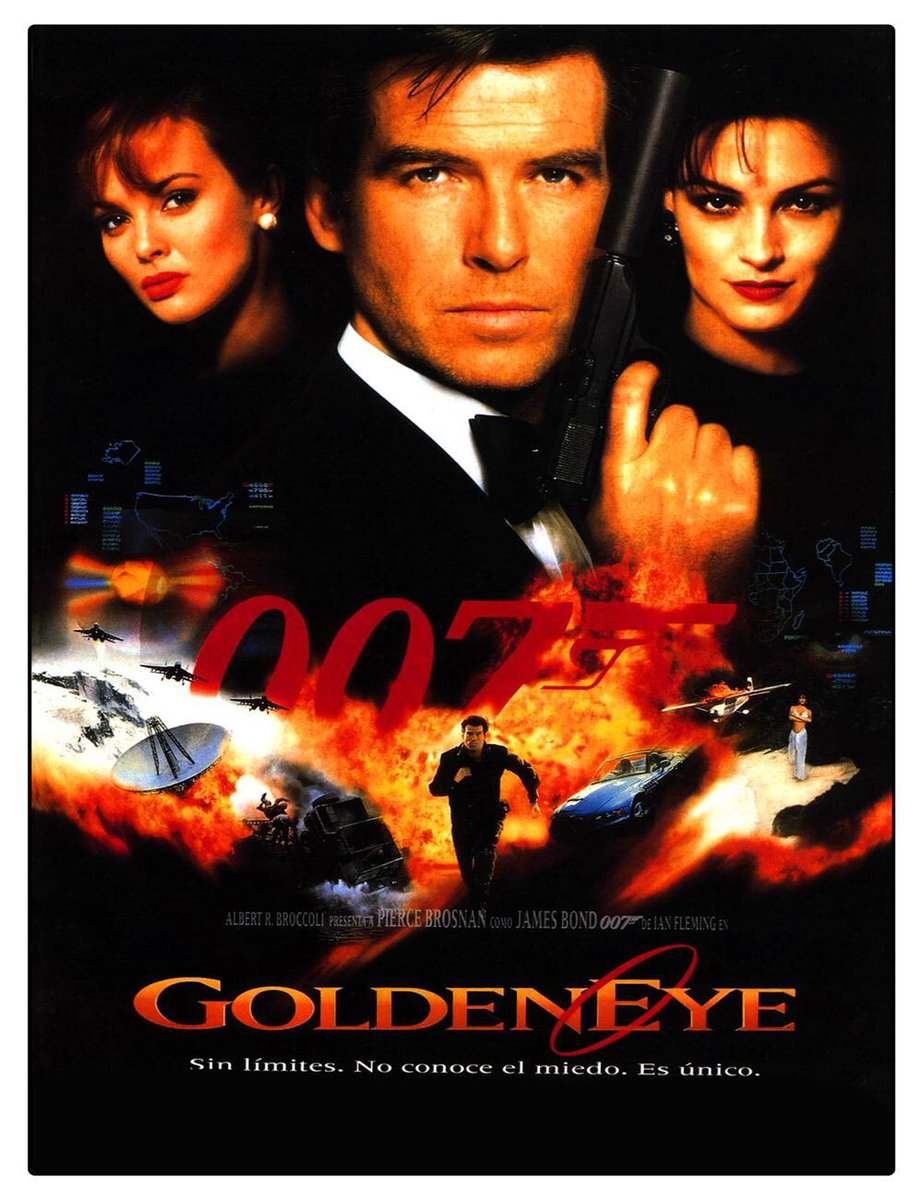 """On This Day In 1995, """"Goldeneye"""", the 17th film in the James Bond series & the first to star Pierce Brosnan at Radio City Music Hall in midtown Manhattan, New York.#OnThisDay   #USA   #Manhattan   #FilmPremiere    #JamesBond   #RadioCityMusicHall    #Goldeneye    #PierceBrosnan"""
