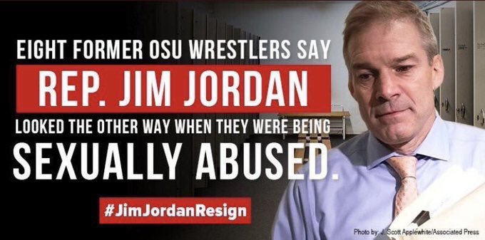 @Jim_Jordan knew. Jim Jordan did nothing to stand up to wealth and Power while allowing sexual abuse of college students. Now he is on repeat for the Cowardly #Trump #ImpeachmentHearings #impeachment #JimJordanKnew #Nunes #gop #MOG #MAGA