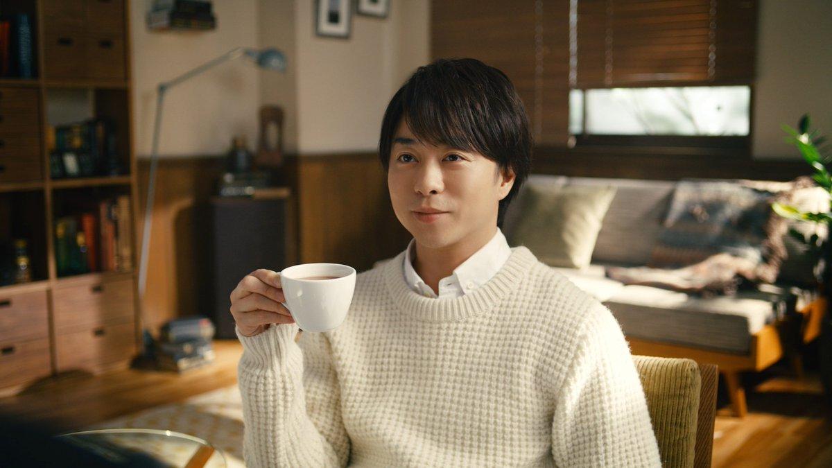 嵐の櫻井翔さんが新TV-CMでちょっと変わった「櫻井流リラックス法」を披露!! 11月21日(木)より全国放送開始