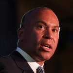 Image for the Tweet beginning: #BREAKING: Deval Patrick telling allies