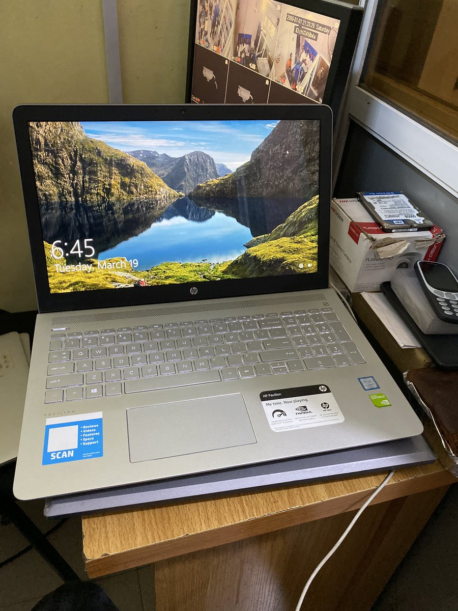 HP PAVILION 15 8gb ram  Core i7 1tb hdd 4gb nvidia dedicated Graphics  Keyboard light  Full HD  230k (slightly negotiable)  Twitter fam, please it won't cost you much time to help@me retweet this  thank you   God bless you<br>http://pic.twitter.com/hbH4gqyDk3