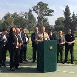 Image for the Tweet beginning: #HappeningNow @LASDHQ Alex Villanueva, Homicide