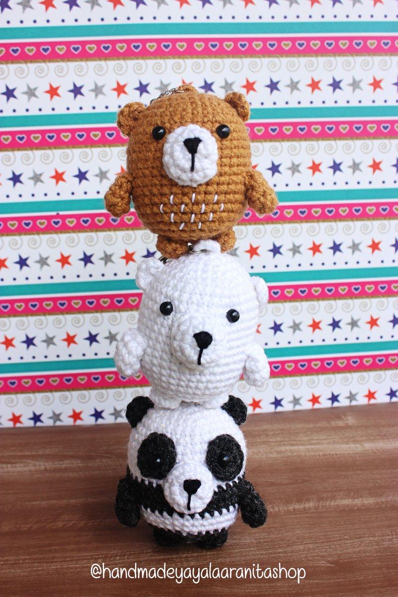 We Bare Bears Amigurumi Pattern Free - We Bare Bearss | 1200x800