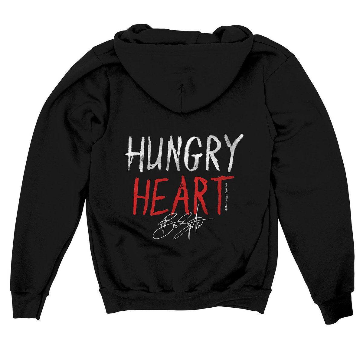 "Together, we can do our part to end hunger for good. Support @whyhunger and join the movement to fight for everyone's right to nutritious food. Donate to receive limited edition @springsteen ""Hungry Heart"" tees & hoodies! hungerthon.org #Hungerthon #Springsteen"