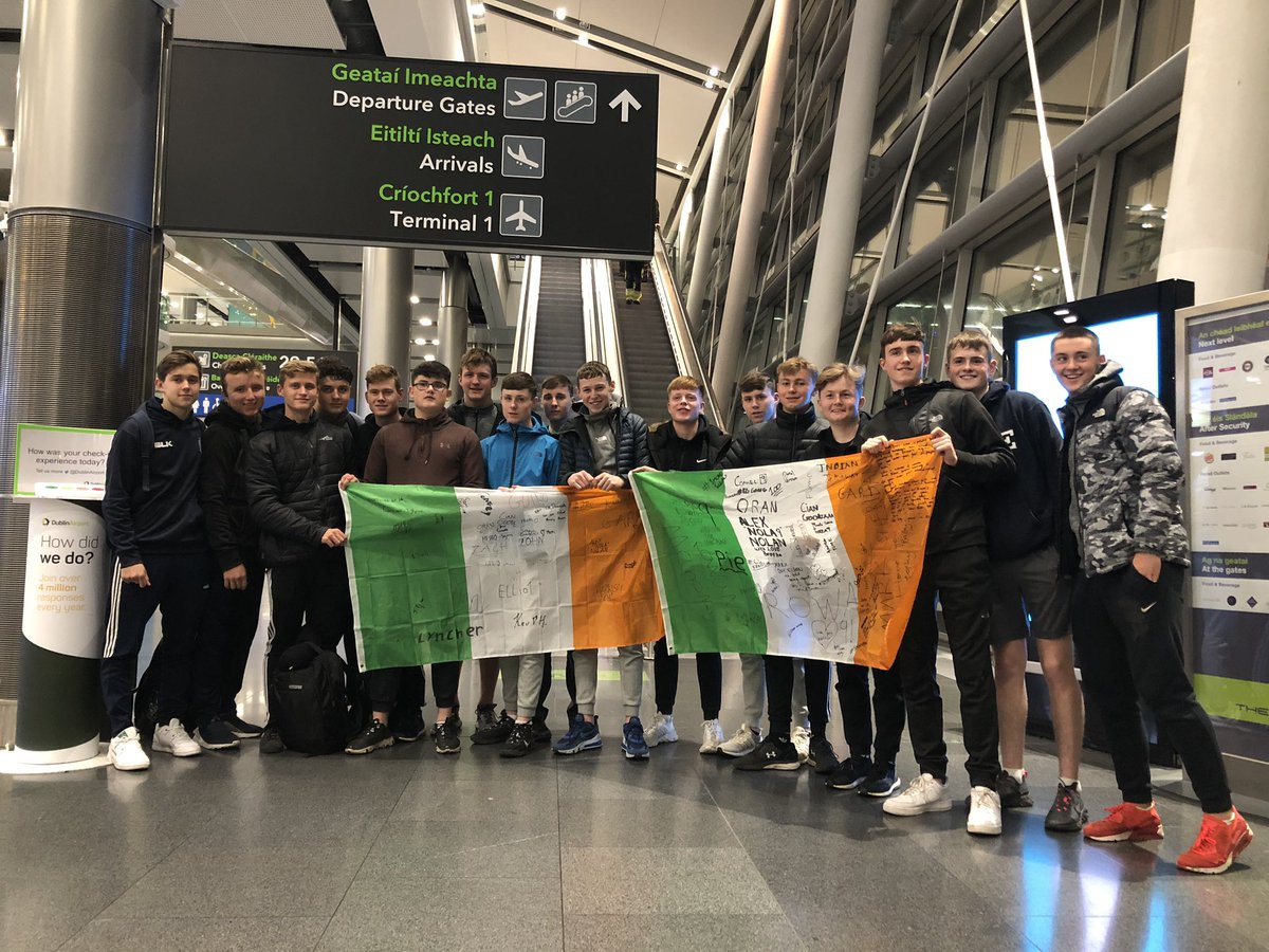 Saying goodbye to our 7 students from St Albans @thegreyandblue as they depart Dublin airport on their journey home to South Africa. Safe journey lads and we hope you had a great time in Ireland https://t.co/lhWXDZQ6pp