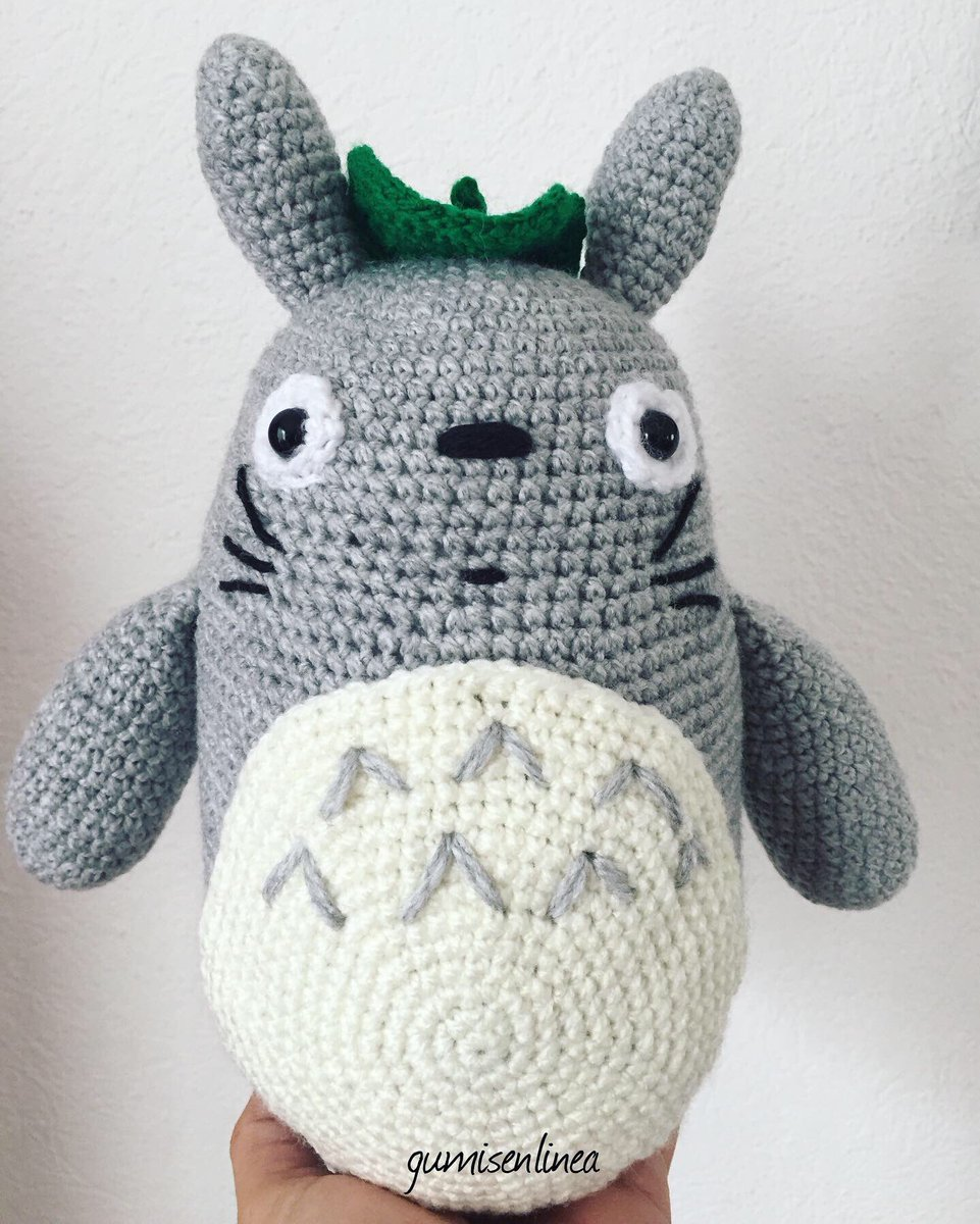 Totoro » 53stitches » Free Amigurumi and Crochet Patterns and ... | 1200x961