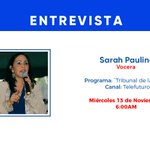 Image for the Tweet beginning: Hoy a las 6:00Pm, nuestra