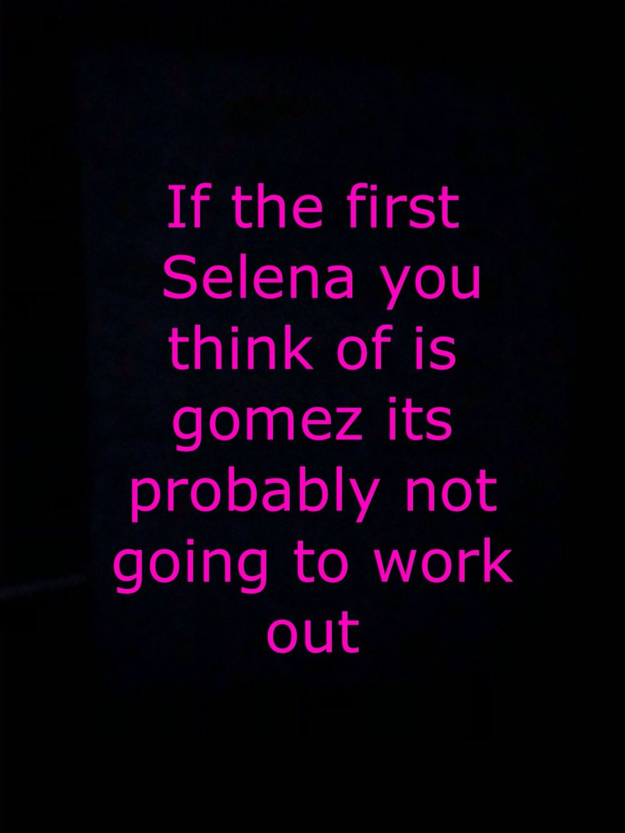 #Selena