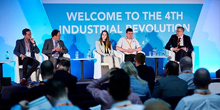 #ThrowBackThursday @Industry_4 Summit 2019: Thanks to @elen_parry @Autodesk_UKI @Carldiver @OfficialUoM @FDMGroup for contributing to a panel Discussion: #Upskilling for #Industry40. #digitalisation #smartfactory #UKMfg http://bit.ly/32IM7e6