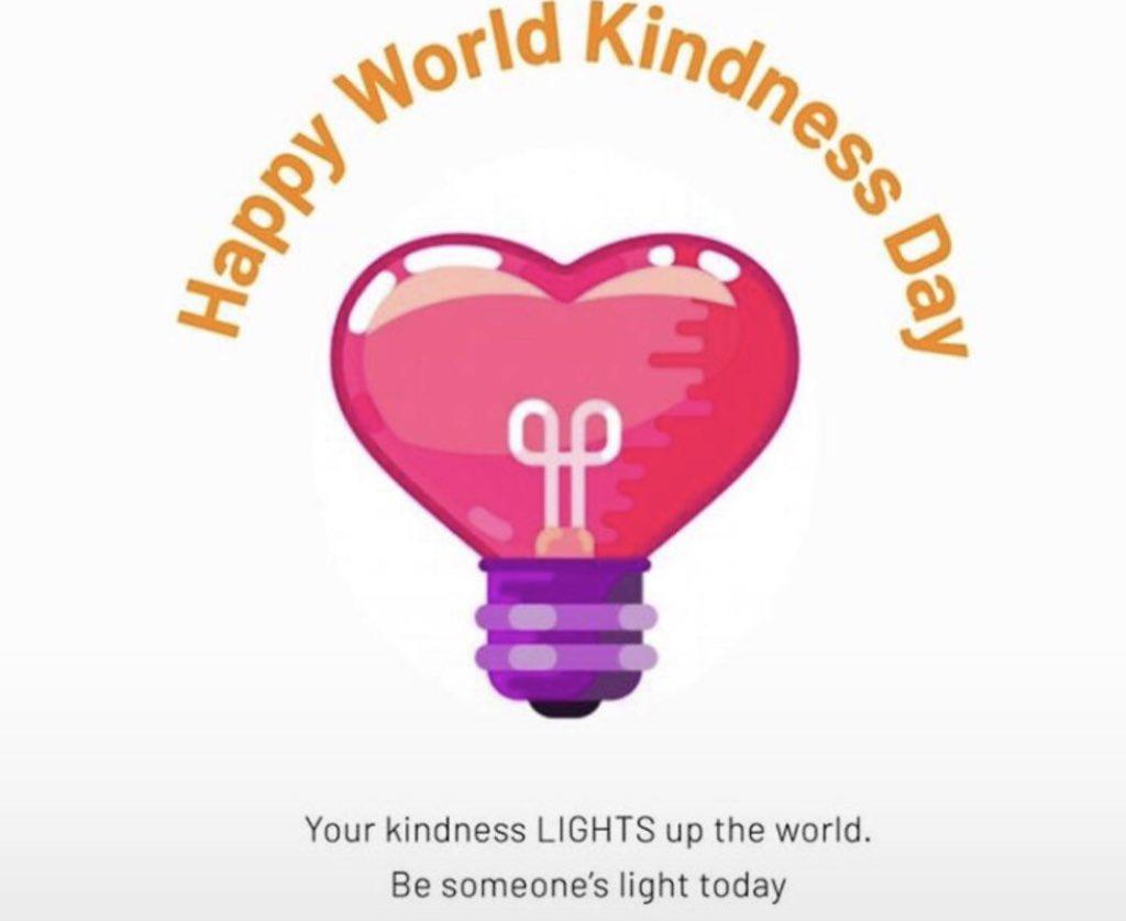 #WorldKindessDay #HappyWorldKindnessDay Show kindness to people around you today pls