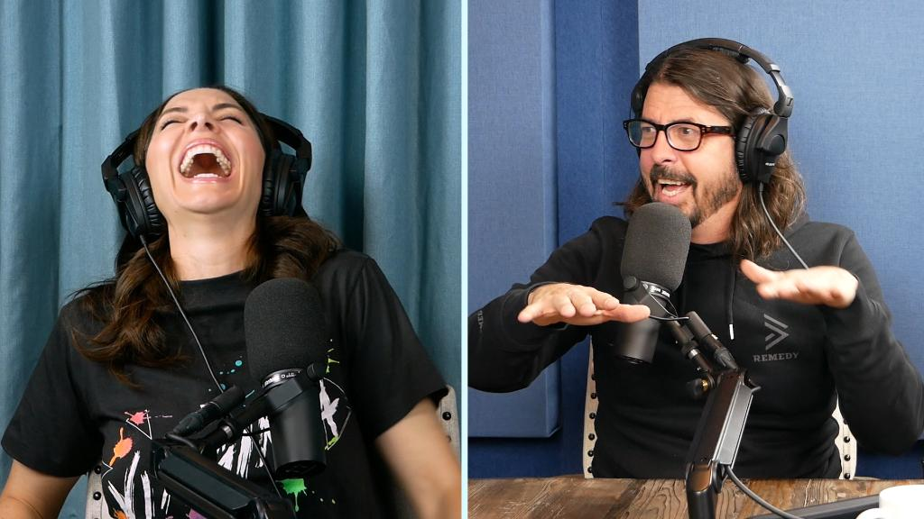 The one and only Dave Grohl joins @WhitneyCummings on her new Good For You podcast. apple.co/GoodForYou