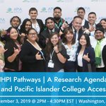 Image for the Tweet beginning: APIA Scholars and the Institute