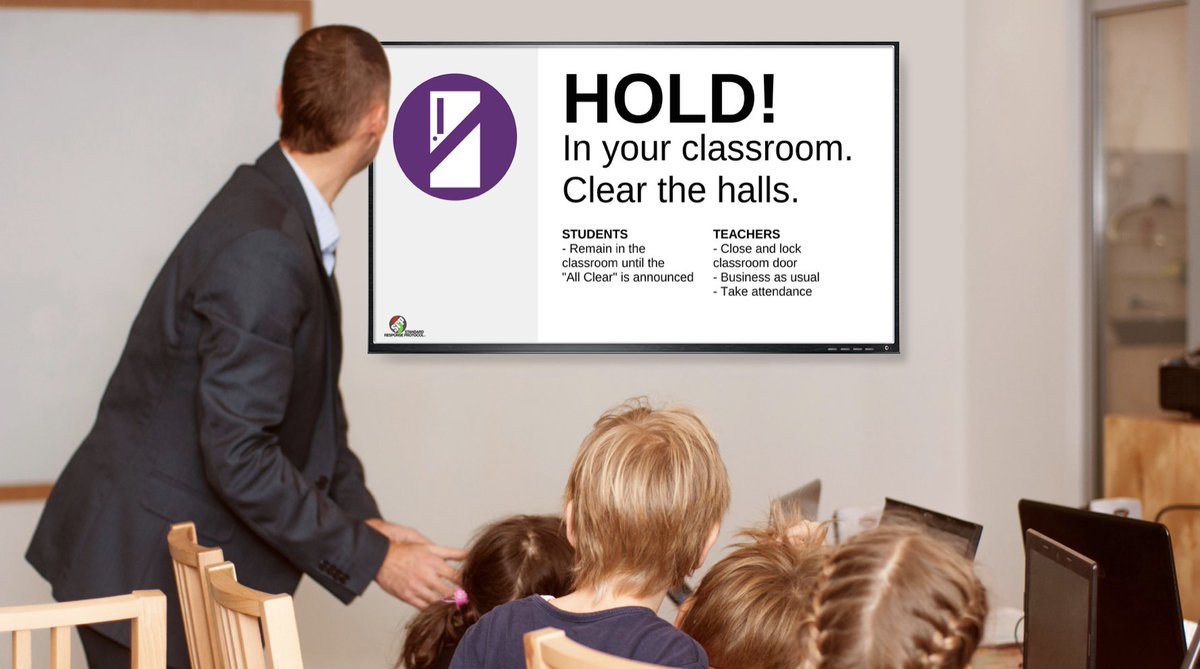 Carousel + #AppleTV + @JAMFSoftware + ILoveYoiGuys Foundation = powerful, effective school safety alerts. #jnuc2019 @trms