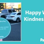 Image for the Tweet beginning: Happy World Kindness Day! One