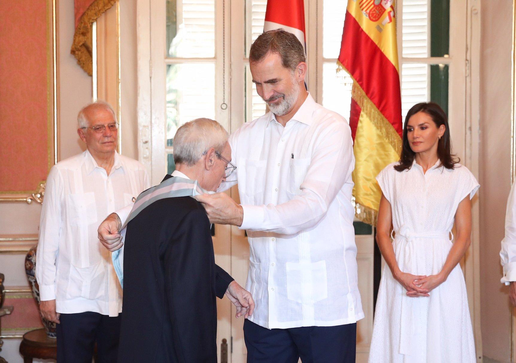 Spain honors Eusebio Leal