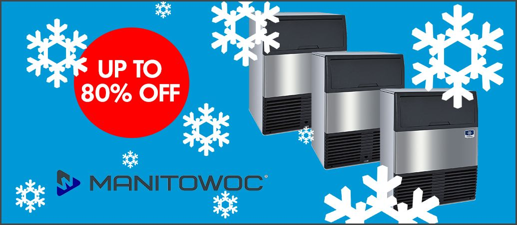 Image for Ice, Ice Baby! Take advantage of up to 80% off your next ice machine in our #IceMachineClearance ❄️