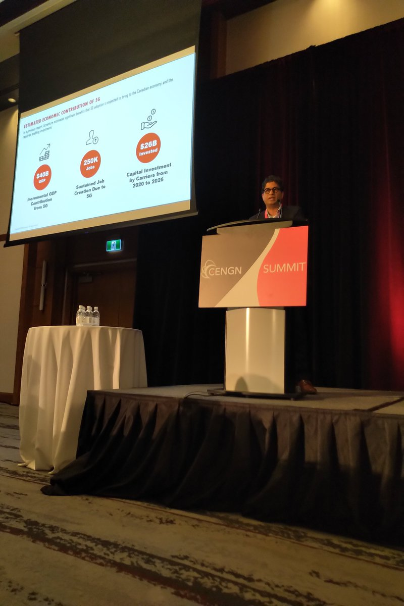 "test Twitter Media - Tejas Rao, Global #5G Offering Lead at @Accenture, discusses the findings of ""Accelerating 5G in Canada — Benefits for Cities and Rural Communities"", an @Accenture report commissioned by @CWTAwireless and released today at #CENGNSummit19. Read the report: https://t.co/9ZOpZINGwF https://t.co/KyqBYJ6UgP"