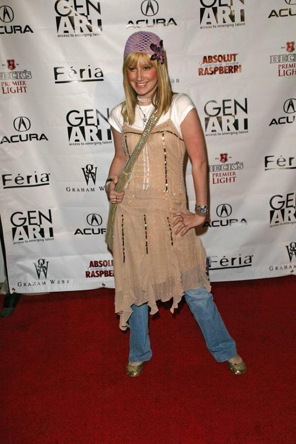 You can't tell me Ashley Tisdale wouldn't have ate up the red carpet at any met gala in the 2000s