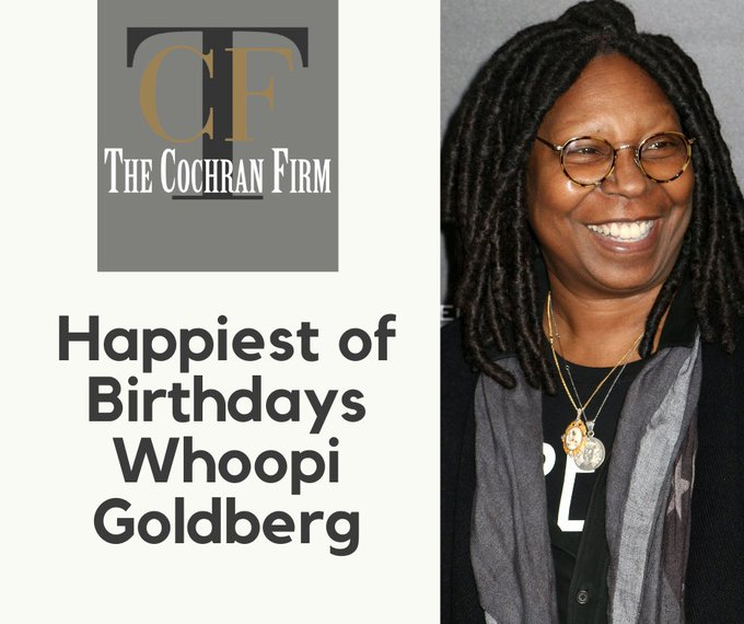 Help us wish a very happy birthday to Award winning actress, and comedian Whoopi Goldberg.