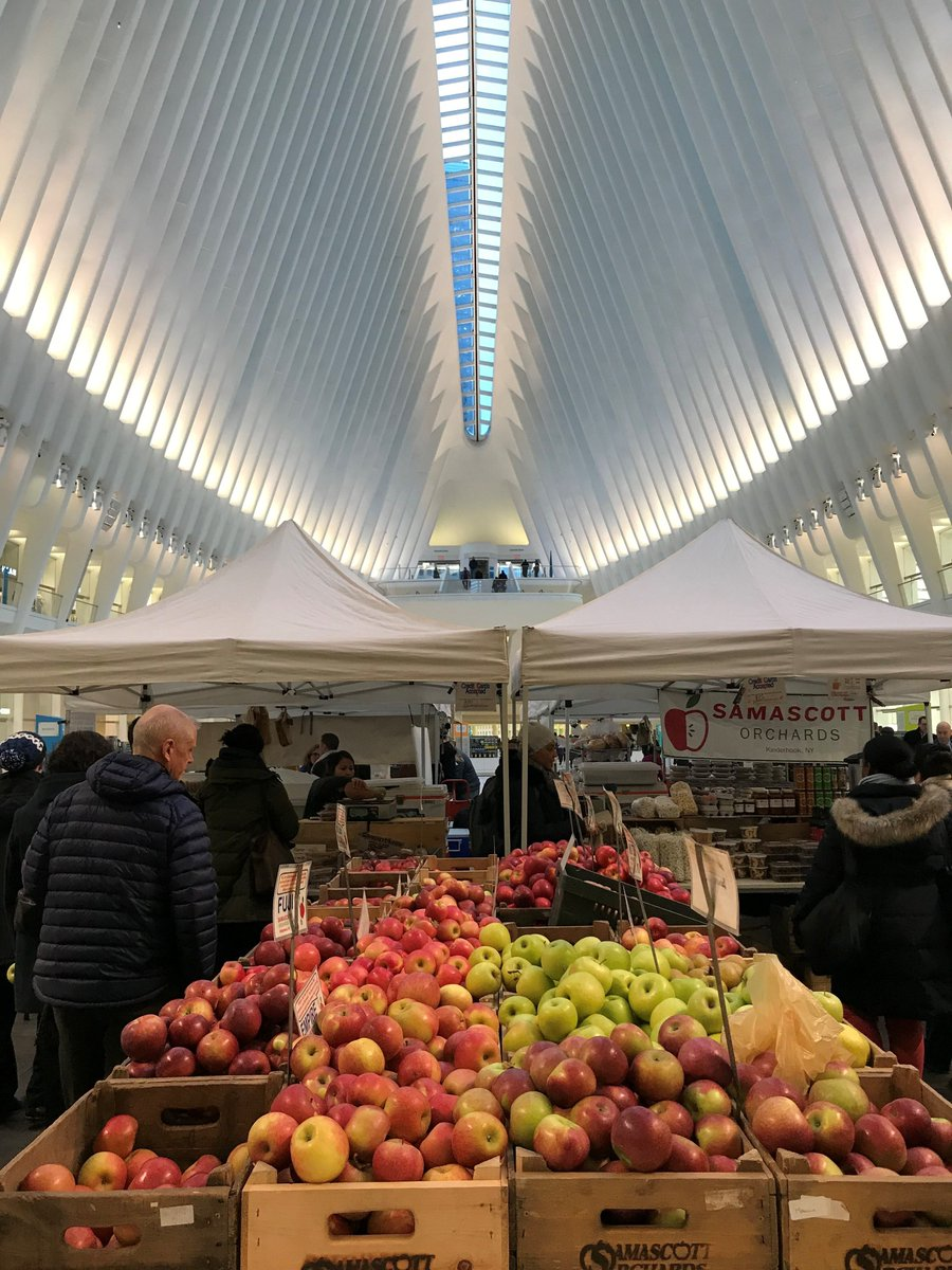 The #Westfield Greenmarket has officially moved inside for the season, go check out all the amazing vendors in a new setting!