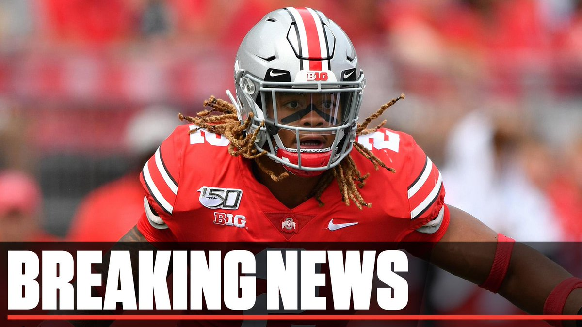 Breaking: Ohio State's Chase Young will be suspended one more game by the NCAA, the school announced Wednesday.   He'll miss Saturday's game against Rutgers, but will be eligible to play against No. 9 Penn State on Nov. 23.
