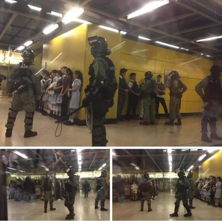 @trtworld Spray the pregnant, arrest the teenage girls - #HKPoliceMurderers https://t.co/Lxs1iOszIW