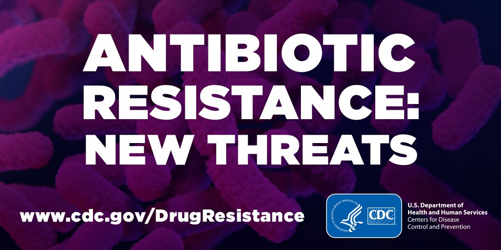 test Twitter Media - NEW: Antibiotic-resistant bacteria & fungi cause more than 2.8M infections and 35k deaths in the United States each year, according to the second #CDCARthreats Report released today. Progress has been made, but aggressive action must continue. https://t.co/9Xe13lzETS https://t.co/2miM9mA0A3