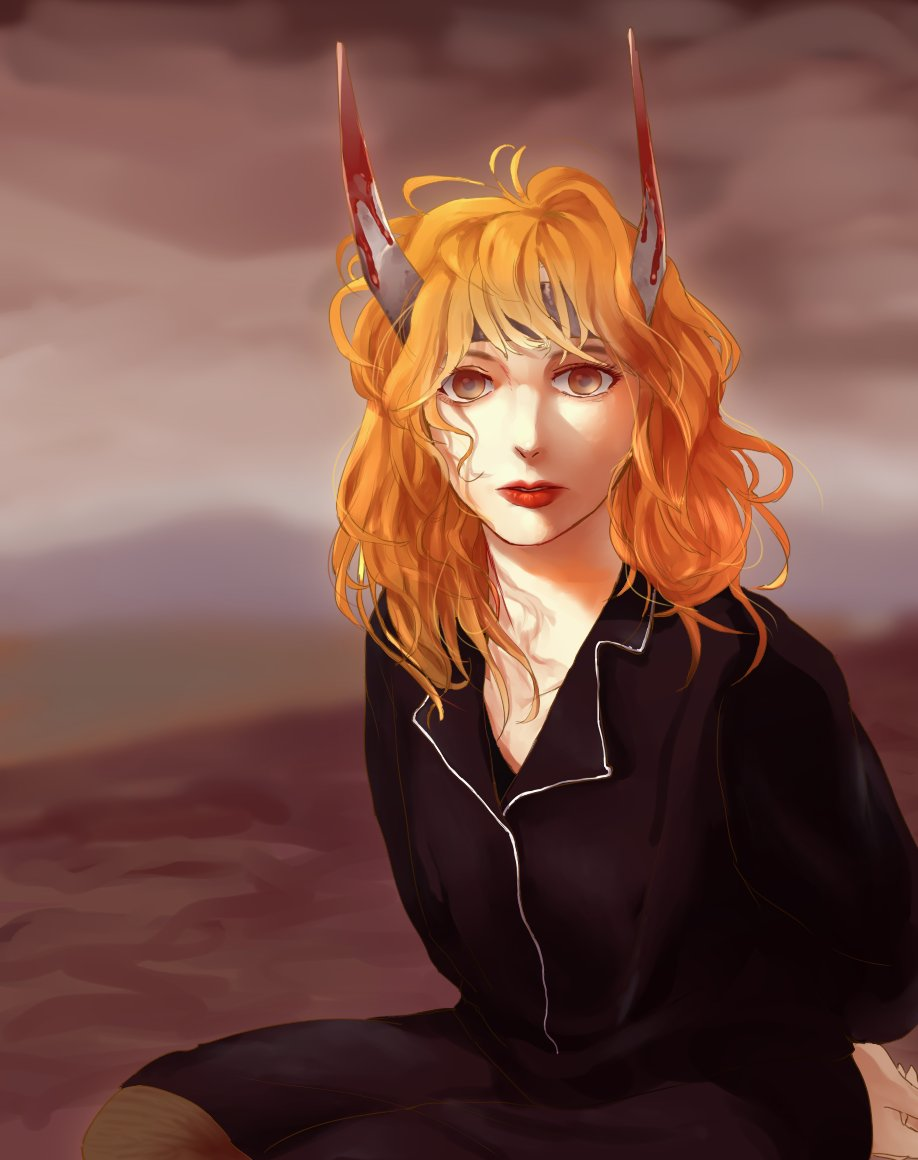 Fanart of Mylene Farmer  Mylene Farmer, my favorite French singer. She is so cool and awesome!  I originally love to draw human not only animals, and this art piece provides my human art in a realistic style as well.  Give me Fav🌟on http://furaffinity.net/view/33816887/  Thank you!