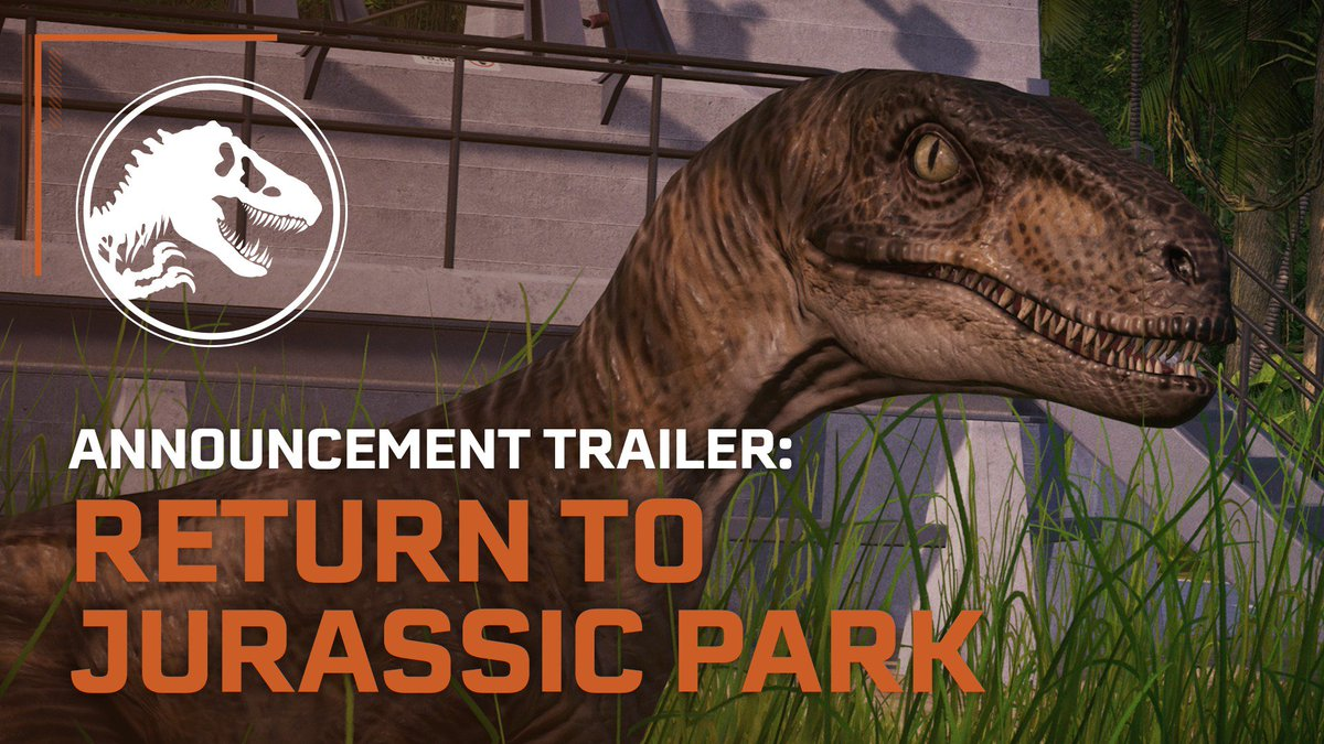 The iconic gates of Jurassic Park are opening once again in @JW_Evolution latest expansion, Jurassic World Evolution: Return to Jurassic Park! Coming December 10, 2019.