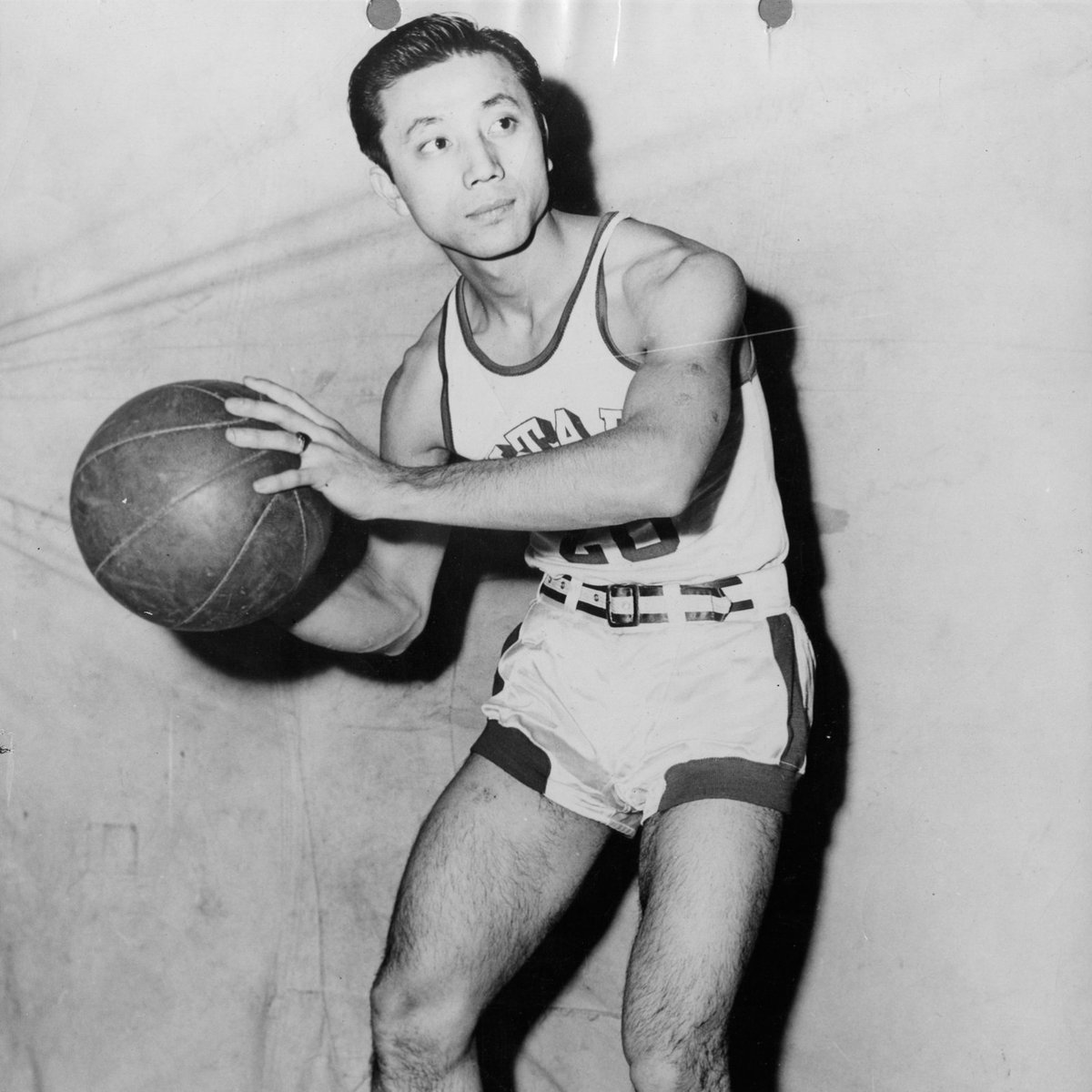 On this day in 1947: Wat Misaka, a 5-foot-7 Japanese American point guard from Utah, made his debut with the New York Knicks, becoming the first nonwhite player in professional basketball.