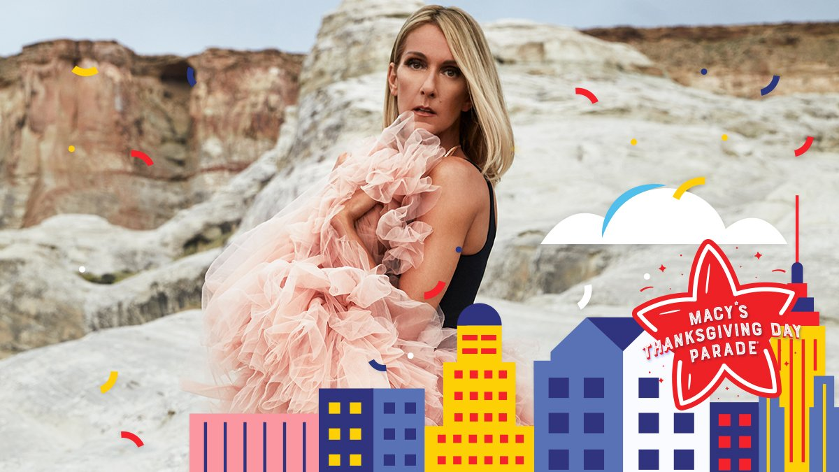 THE @celinedion will be performing on the @NBC broadcast of #macysparade this year and we couldn't be more excited!❤️ Watch NBC on Thanksgiving Day at 9am, all time zones. mcys.co/2QcrCDH