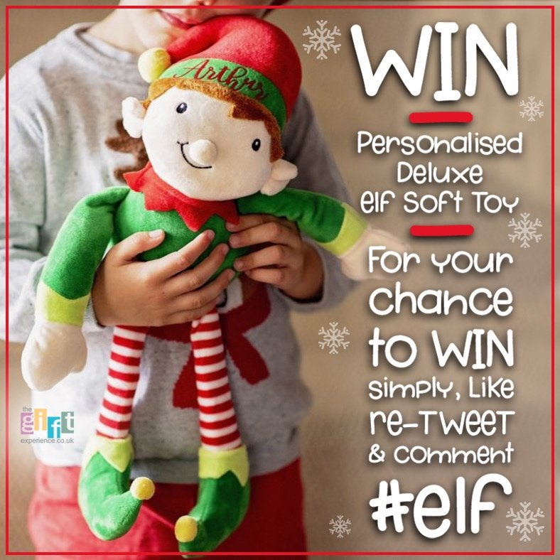 COMPETITION   You can WIN your own personalised elf on the shelf soft toy!   All you have to do to is:  Like RT Comment #elf  You must follow us!   T&C's apply. Please note this will be shared across all of TGE's social networking sites.  Comp ends 20/11<br>http://pic.twitter.com/QsIurhqxzp