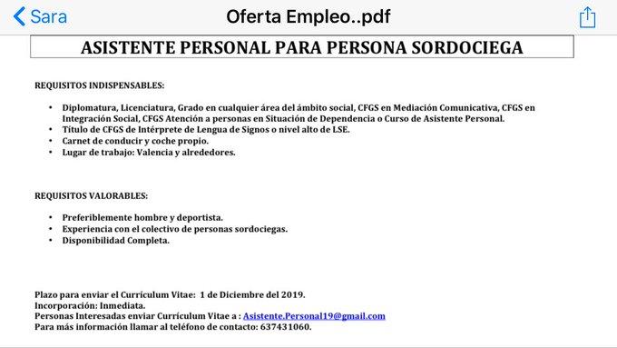 Asistente personal (ILSE-Mediador) para persona sordociega en Valencia. EJRl74gWwAcg01g?format=jpg&name=small