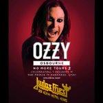 Image for the Tweet beginning: Ozzy Osbourne announces rescheduled 2020