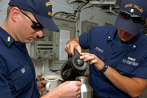 It's easy to be kind.   1. Bring snacks to shipmates on watch. 2. Brew a fresh pot of coffee for the crew. 3. Help a shipmate with a qualification.  #WorldKindnessDay<br>http://pic.twitter.com/3w7toY0gvT