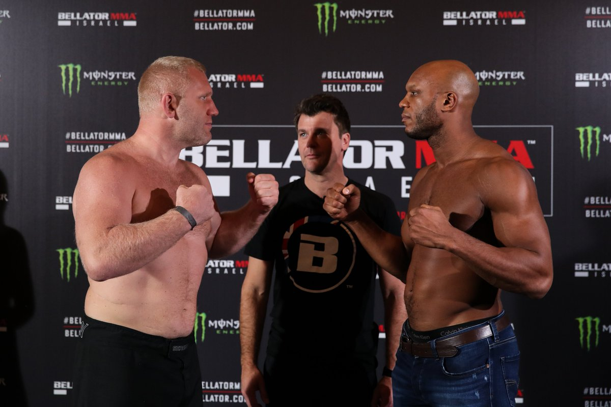 Weigh-ins are in the books. Catch all the action Friday night on @ParamountNet! #Bellator234 https://t.co/B0CFRxpUfM