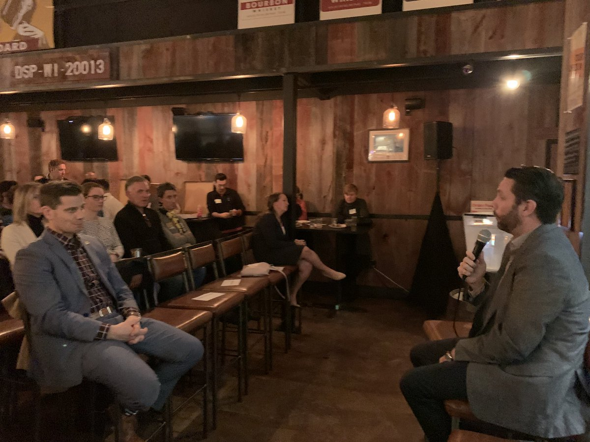 Echoing everything heard last night at the @NEWaukee #politicalopenmic #startupmkeweek event. The numbers are challenging, but @tealsk12org and our nearly 100 volunteers co-teaching CS in #mke are making a dent in the talent pipeline. #mketech
