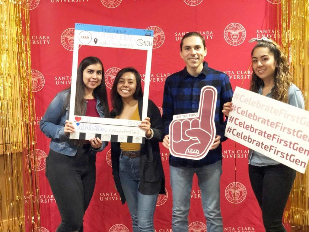Last week @SCULEADScholars celebrated National First-Gen Day! We're so grateful for the #SCULeadScholars program and #SCUproud of the 13+ classes of LEAD #SCUAlumni! #CelebrateFirstGen 📷: SCU LEAD Scholars
