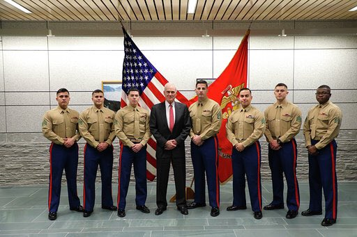 Had the pleasure of meeting with Embassy #Marines during a visit to @usembassyoslo in Norway, one of our strongest NATO allies. https://t.co/Rdu5F5ltry