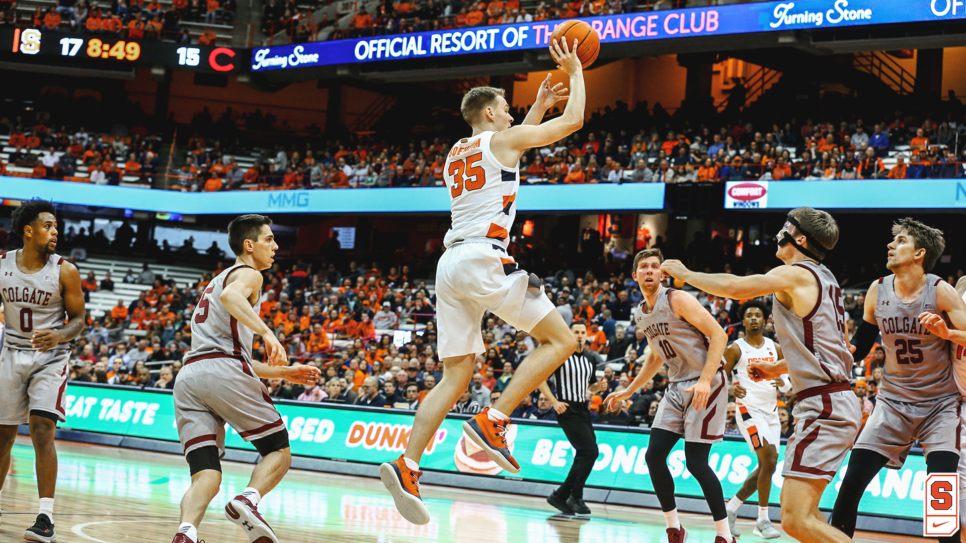 GAME NIGHT: Orange face Colgate tonight at Carrier Dome (preview & info)