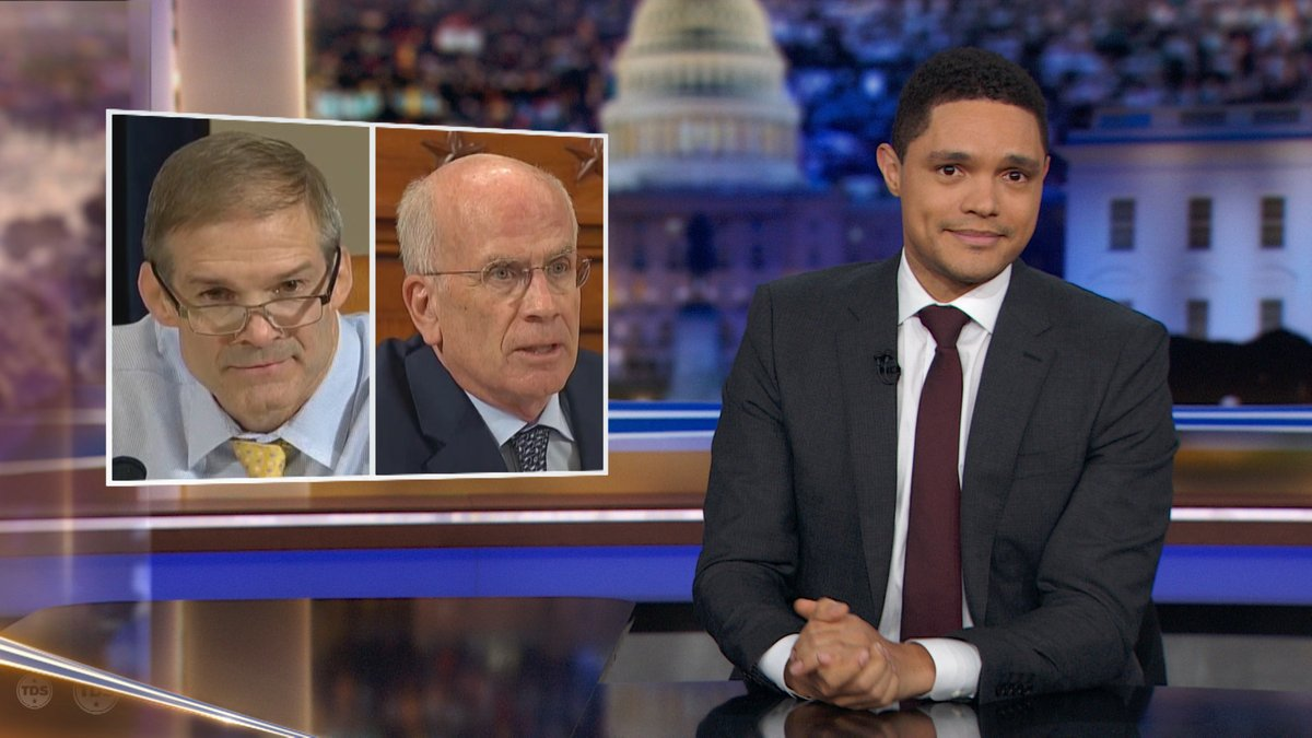 Trevor Noah Exposes The Funniest Holes In Republicans' Impeachment Questions
