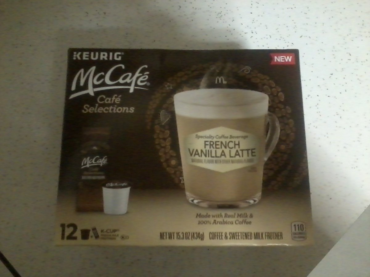 I recently purchased @Walmart @SheSpeaksUp the Keurig McCafe Cafe Selections in French Vanilla Latte.  It tastes so smooth, creamy and delicious.  It tastes so amazing.  It is so satisfying and filling to drink. #SimplyDeliciousAtWalmart <br>http://pic.twitter.com/StxvEeKx9m