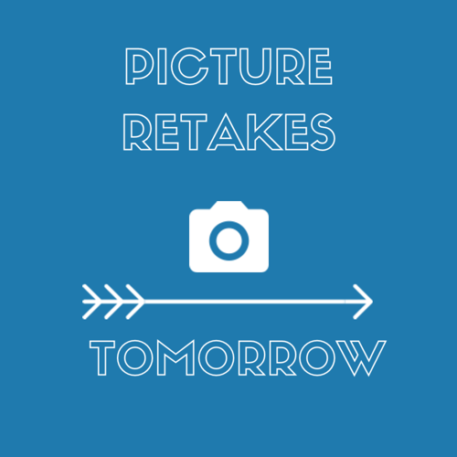 Don't forget, our picture retakes will be taken tomorrow. 📸🤓 <a target='_blank' href='https://t.co/5I0CWiRfye'>https://t.co/5I0CWiRfye</a>