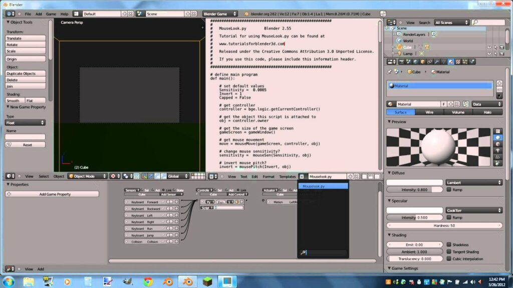 #How #To #Make an #Fps #Game #In #Blender ...#26 #263 #3D #Annoying #Blender26 #Cg #Computer #Dont #First #FpsGames #FpsGamesVideos #Games #GamesVideos #Glitch #Is #PC #Person #Qazwsx2541 #Real #Shooter #The #Think #Time #Tutorialhttps://www.fpshub.com/6695/how-to-make-an-fps-game-in-blender-2-6-part-1-movementhd/… .