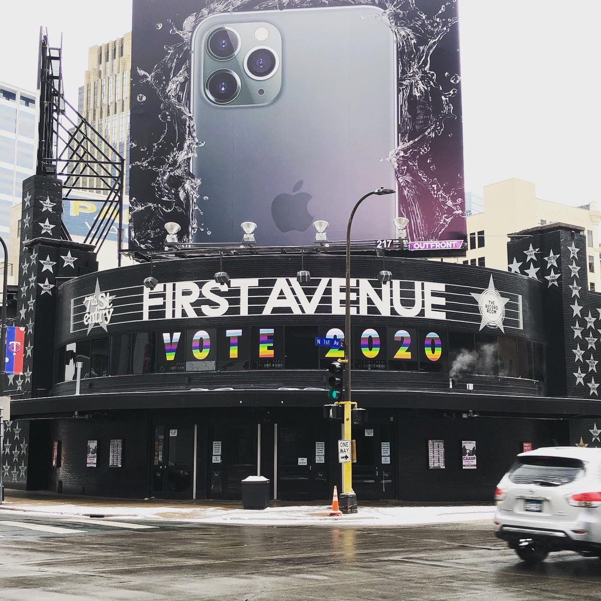Hell Yeah we swung by @FirstAvenue too