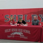 Image for the Tweet beginning: Shelby's Caleb Brown signs with