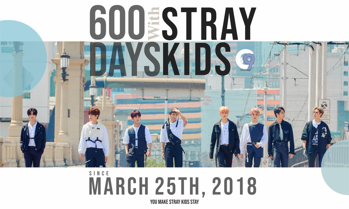 []  Today, November 14th is marked as Stray Kids' 600 days since their debut! We've come a long way together with Stray Kids and we're going to continue to walk together for a very long time.   #600DaysWithStrayKids @Stray_Kids<br>http://pic.twitter.com/7ht8sQE8fh