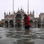 Image for the Tweet beginning: Historic flooding imperils St. Mark's