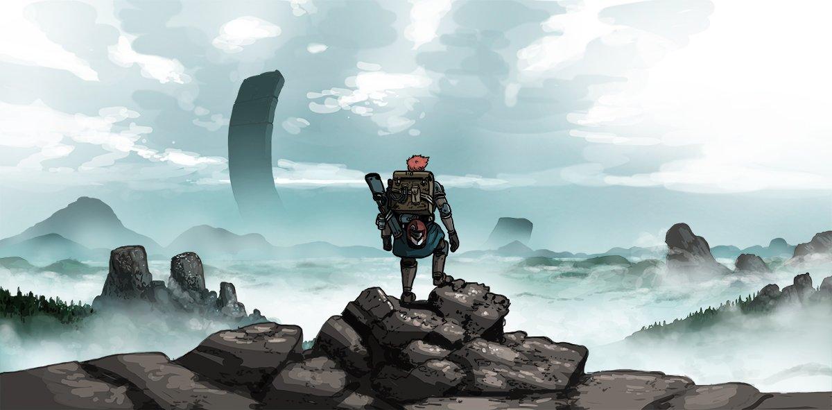 The official art for the GMS SP-1 EVEREST for @Lancer_RPG<br>http://pic.twitter.com/mZwFWZ0Fk7