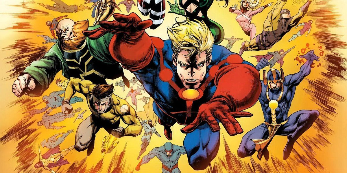 Kevin Feige Admits Eternals Is a Risk for Marvel Studios buff.ly/2rA4rcf